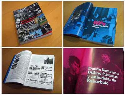 LLUVIA, HIERRO Y ROCK & ROLL (Historia del Rock en el Gran Bilbao 1958-2008) de Álvaro Heras Gröh