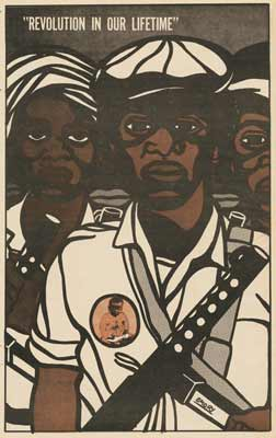 El movimiento Black Panther de Emory Douglas